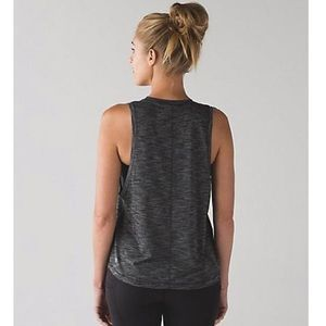 Lululemon | Cardio Squad Tank ll (Heather Black)